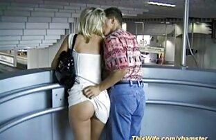 یک زن بالغ با شور و شوق ، تصاویر سکسی الکسیس تگزاس دیک شریک زندگی را جلوی لنز می مکید